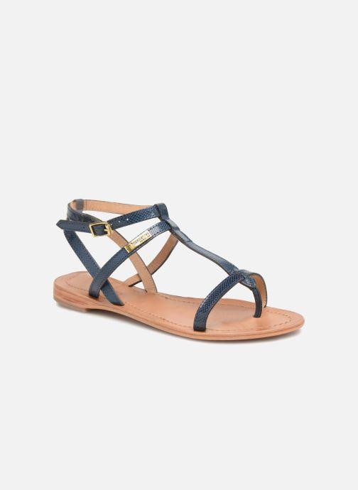 Sandales et nu-pieds Les Tropéziennes par M Belarbi Hilan Bleu vue détail/paire