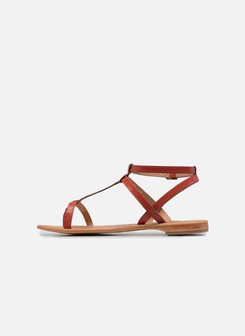 Sandales et nu-pieds Les Tropéziennes par M Belarbi Hilan Rouge vue face