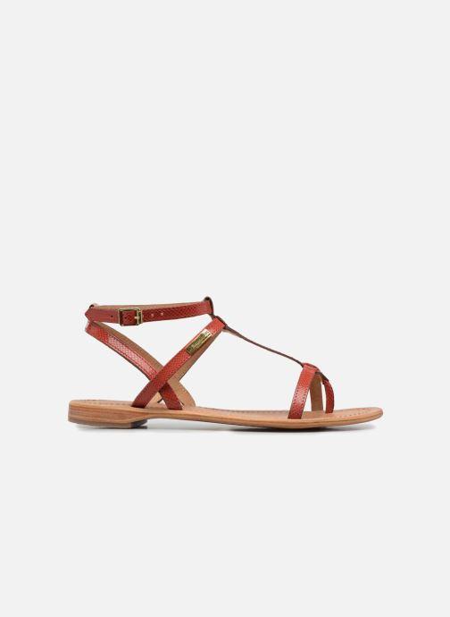 Sandales et nu-pieds Les Tropéziennes par M Belarbi Hilan Rouge vue derrière