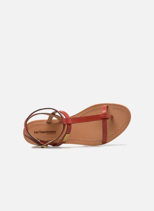 Sandales et nu-pieds Les Tropéziennes par M Belarbi Hilan Rouge vue gauche