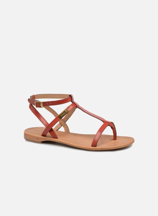 Sandales et nu-pieds Les Tropéziennes par M Belarbi Hilan Rouge vue détail/paire