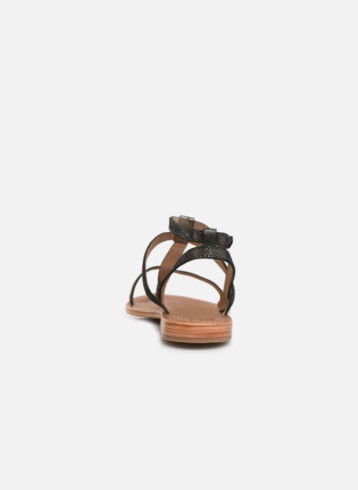 Sandales et nu-pieds Les Tropéziennes par M Belarbi Hilan Noir vue droite