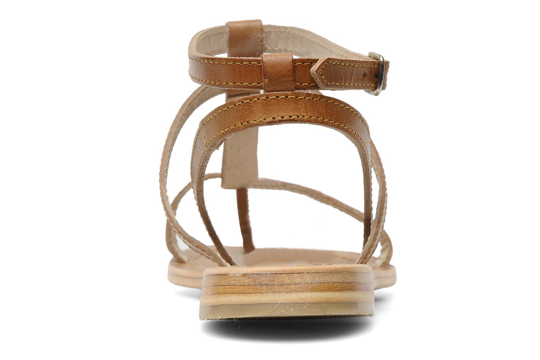 Sandals Les Tropéziennes par M Belarbi Hilan Brown view from the right