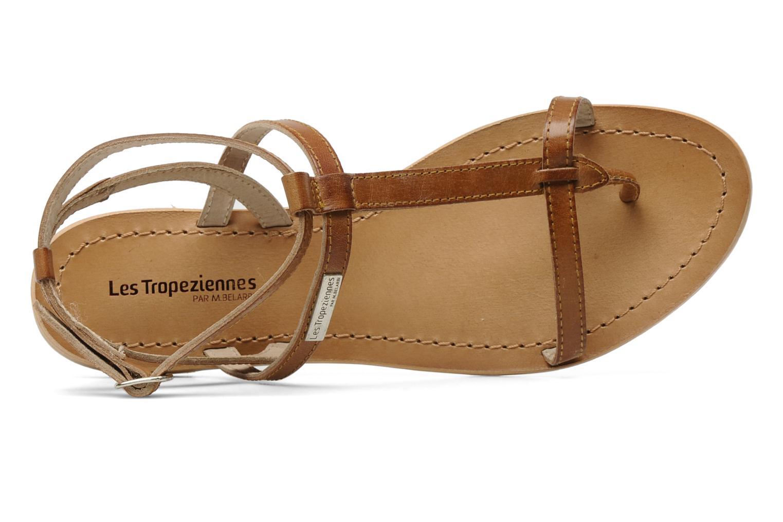 Sandals Les Tropéziennes par M Belarbi Hilan Brown view from the left