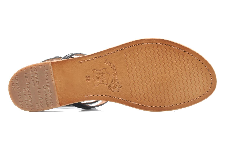Sandales et nu-pieds Les Tropéziennes par M Belarbi Hilan Noir vue haut