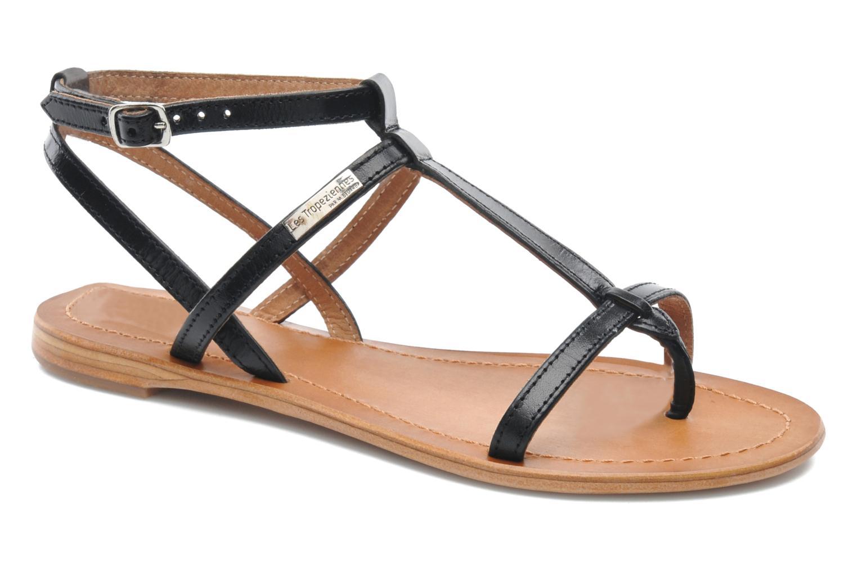 Sandales et nu-pieds Les Tropéziennes par M Belarbi Hilan Noir vue détail/paire