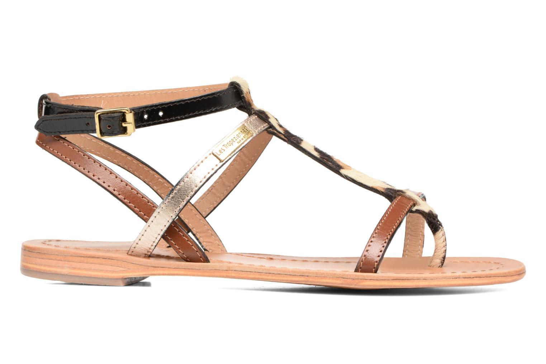 Sandales et nu-pieds Les Tropéziennes par M Belarbi Hilan Marron vue derrière