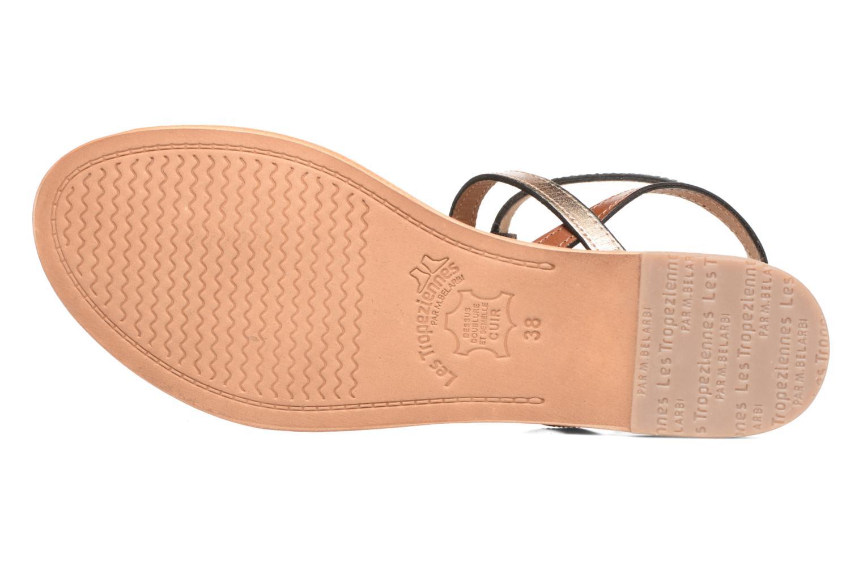 Sandales et nu-pieds Les Tropéziennes par M Belarbi Hilan Marron vue haut