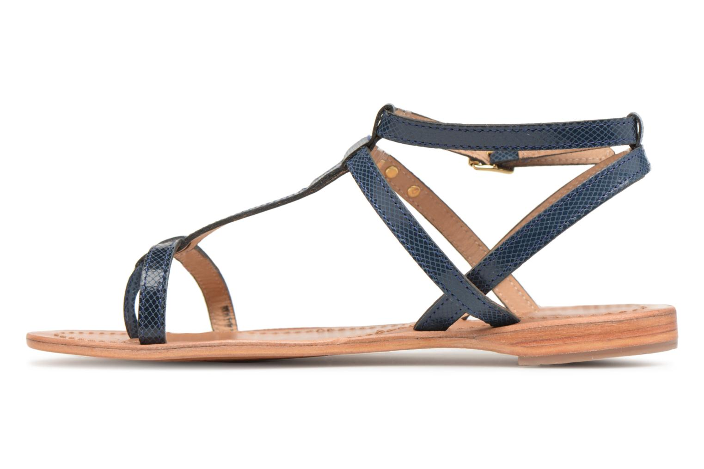 Sandales et nu-pieds Les Tropéziennes par M Belarbi Hilan Bleu vue face
