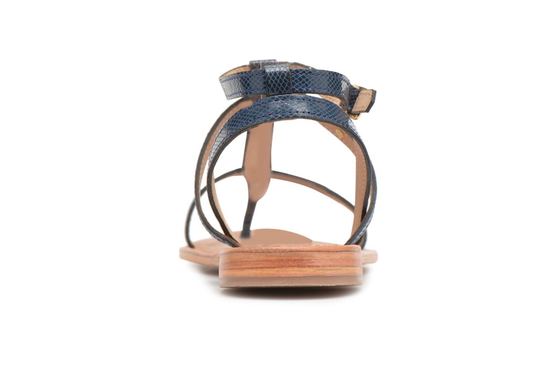 Sandales et nu-pieds Les Tropéziennes par M Belarbi Hilan Bleu vue droite