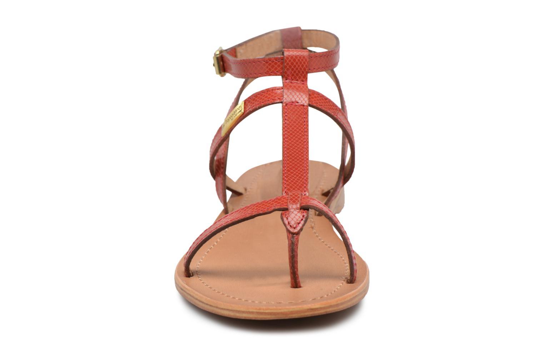 Sandalias Les Tropéziennes par M Belarbi Hilan Rojo vista del modelo