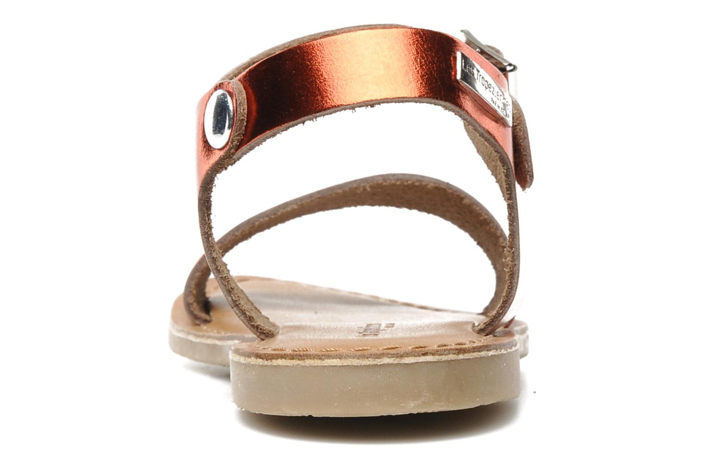 Sandaler Les Tropéziennes par M Belarbi Hiliona E Rød Se fra højre