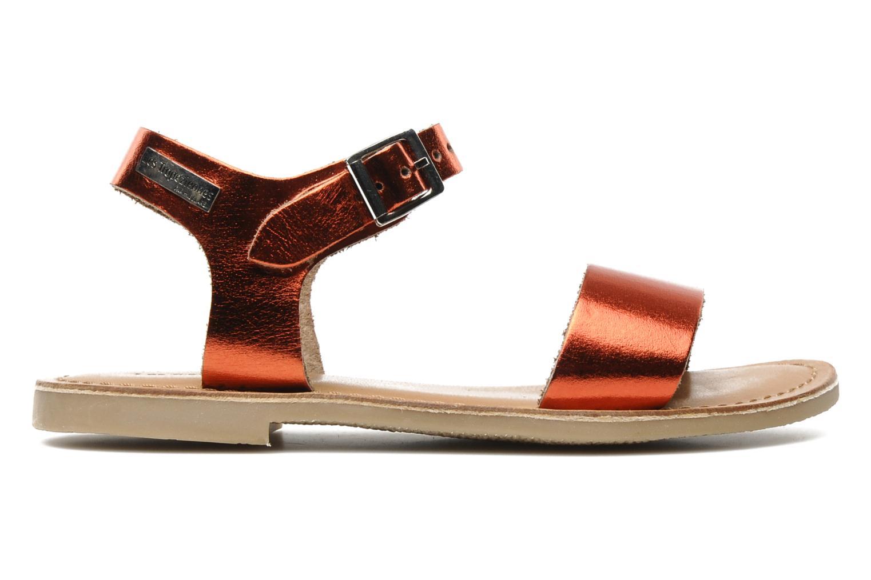 Sandales et nu-pieds Les Tropéziennes par M Belarbi Hiliona E Rouge vue derrière
