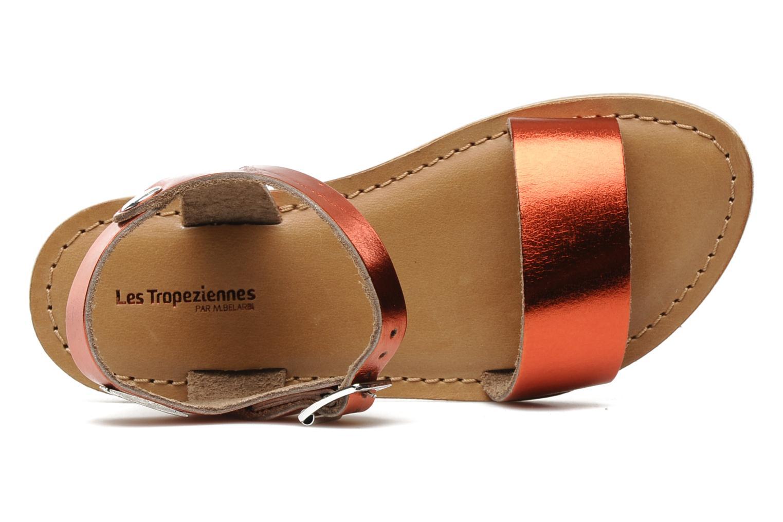 Sandales et nu-pieds Les Tropéziennes par M Belarbi Hiliona E Rouge vue gauche