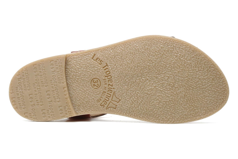 Sandales et nu-pieds Les Tropéziennes par M Belarbi Hiliona E Rouge vue haut