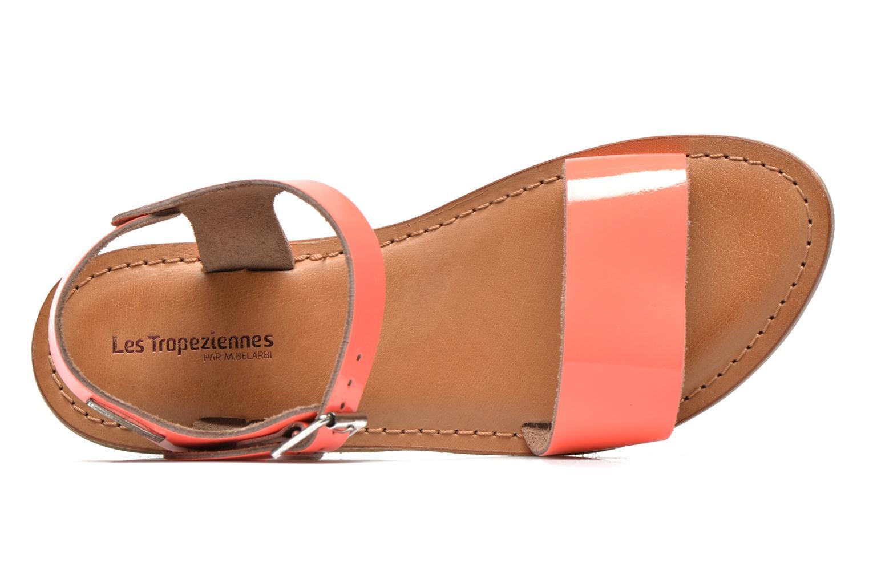 Sandali e scarpe aperte Les Tropéziennes par M Belarbi Hiliona Arancione immagine sinistra