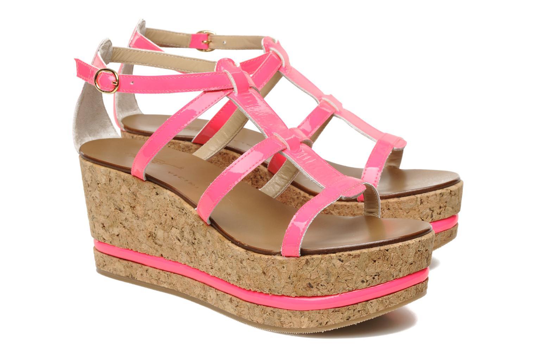 Sandals Tapeet Tipia Pink 3/4 view