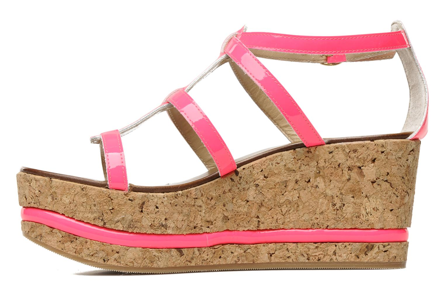 Sandals Tapeet Tipia Pink front view