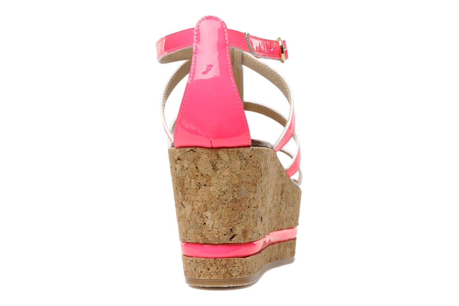 Sandals Tapeet Tipia Pink view from the right