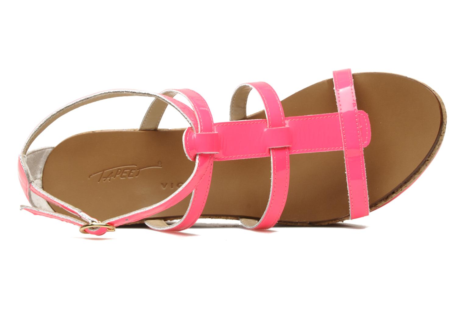 Sandals Tapeet Tipia Pink view from the left
