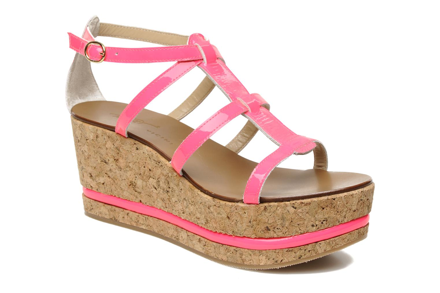 Sandals Tapeet Tipia Pink detailed view/ Pair view