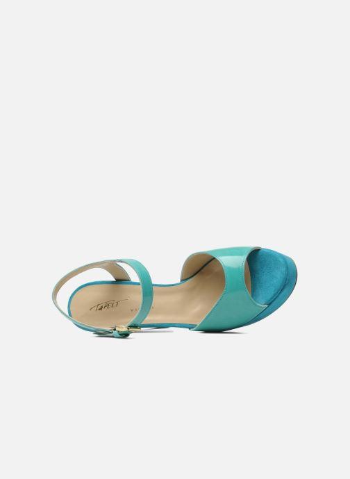 Sandales et nu-pieds Tapeet Tunea Vert vue gauche