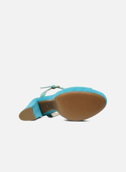 Sandales et nu-pieds Tapeet Tunea Vert vue haut