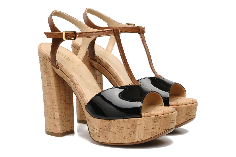 Sandaler Tapeet Tomia Sort 3/4 billede