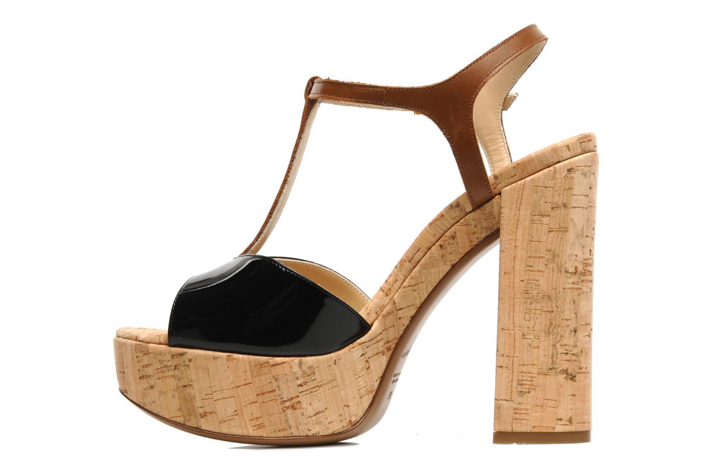 Sandali e scarpe aperte Tapeet Tomia Nero immagine frontale