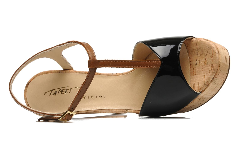 Sandaler Tapeet Tomia Sort se fra venstre