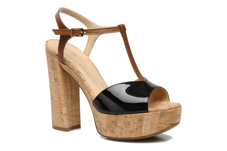Sandaler Tapeet Tomia Sort detaljeret billede af skoene