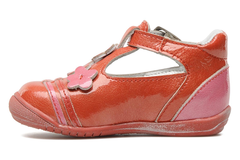 Bottines et boots GBB Béatrice Rouge vue face