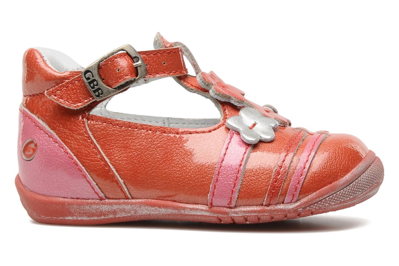 Bottines et boots GBB Béatrice Rouge vue derrière
