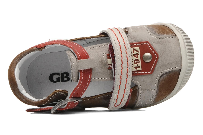 Bottines et boots GBB Bernie Gris vue gauche