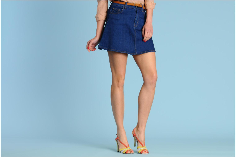 Sandales et nu-pieds Fred Marzo Josy Multicolore vue bas / vue portée sac