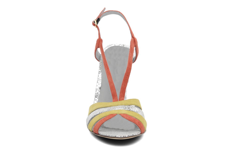 Sandales et nu-pieds Fred Marzo Josy Multicolore vue portées chaussures
