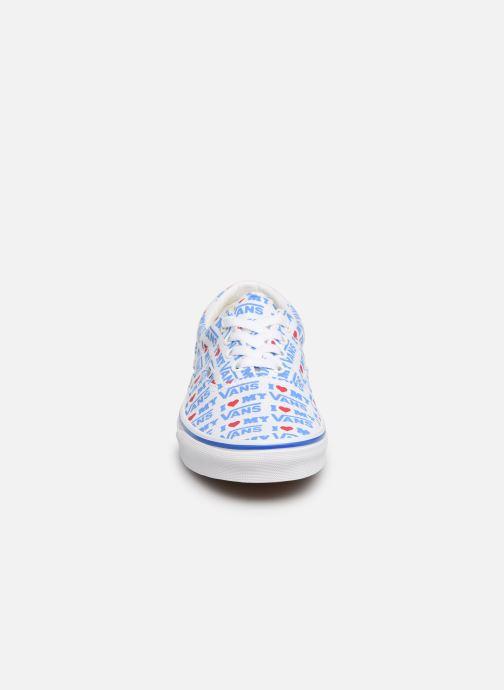 Sneakers Vans Era W Bianco modello indossato