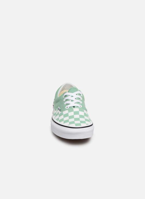 Baskets Vans Era W Vert vue portées chaussures