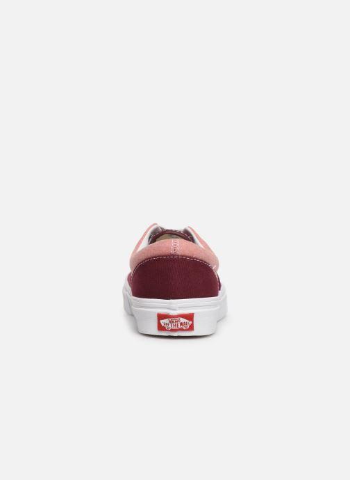 Sneaker Vans Era W weinrot ansicht von rechts
