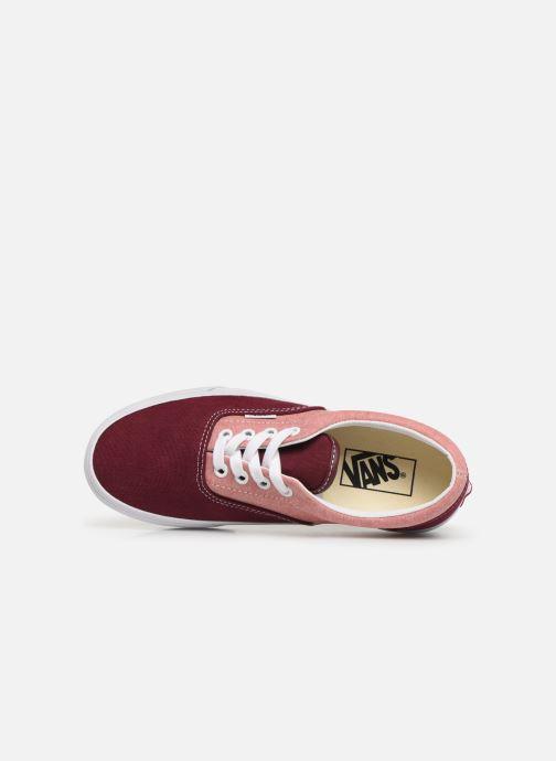 Sneaker Vans Era W weinrot ansicht von links