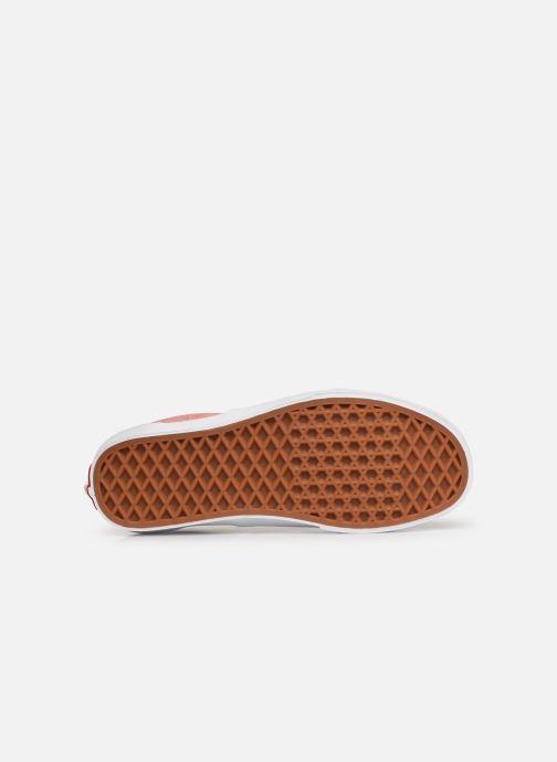 Sneaker Vans Era W weinrot ansicht von oben