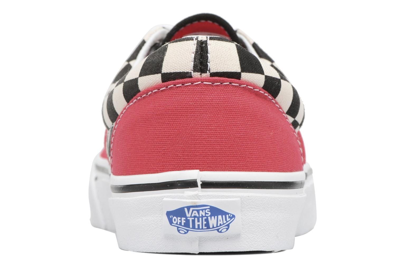 Sneaker Vans Era W rot ansicht von rechts