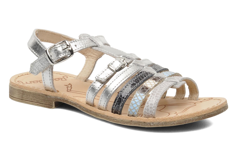 Sandales et nu-pieds Ramdam by GBB Bangkok Argent vue détail/paire