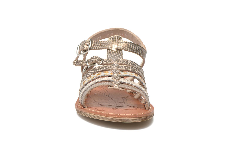 Sandales et nu-pieds Ramdam by GBB Bangkok Or et bronze vue portées chaussures
