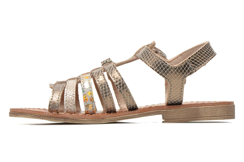 Sandales et nu-pieds Ramdam by GBB Bangkok Or et bronze vue face
