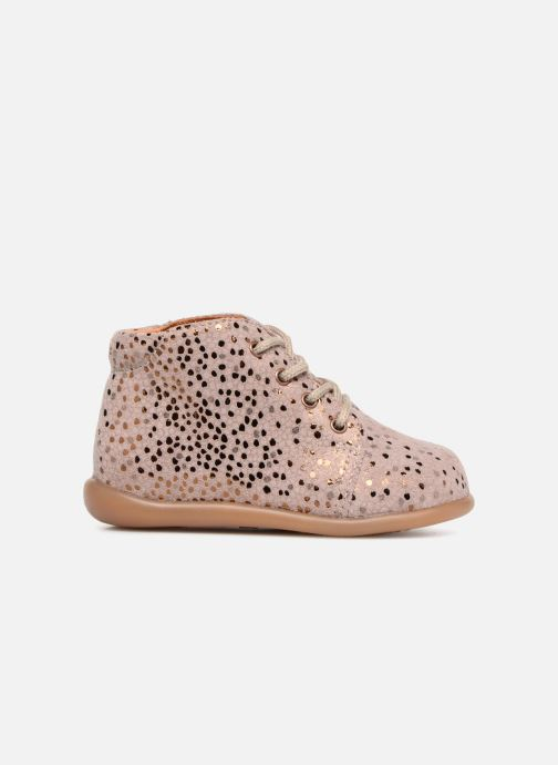Ankle boots Babybotte Fredy Pink back view
