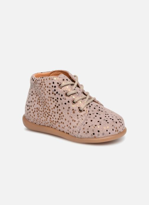 Ankle boots Babybotte Fredy Pink detailed view/ Pair view