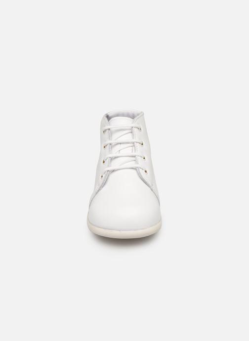 Bottines et boots Babybotte Fredy Blanc vue portées chaussures
