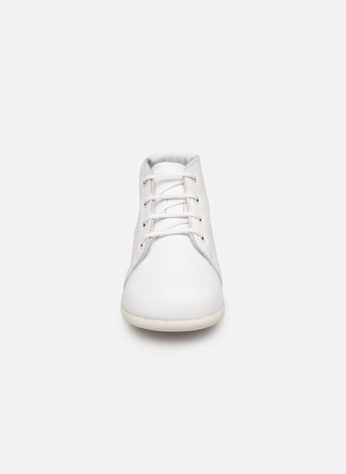 Ankle boots Babybotte Fredy White model view