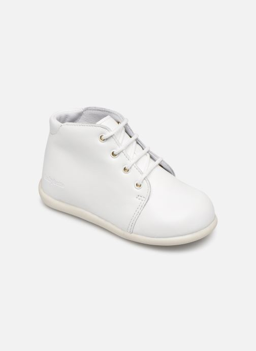 Ankle boots Babybotte Fredy White detailed view/ Pair view
